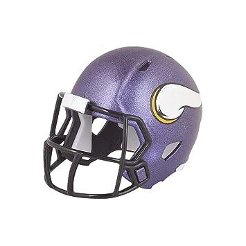 Casco de fútbol americano de los Minnesota Vikings de la NFL, versión mini: Amazon.es: Deportes y aire libre