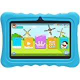 "YUNTAB Q88H Kids Edition Tablet, 7"" Display, 8 GB, WiFi, Kids Software Pre-Installed, Premium Parent Control, Educational Game Apps (Blue)"