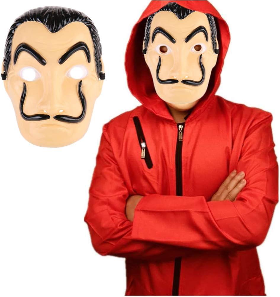 Donna Uomo Unisex Salvador Dal/í Costume Cosplay per Carnevale Natale Abiti e Maschera di Halloween Kylewo Dal/í Cos Abbigliamento