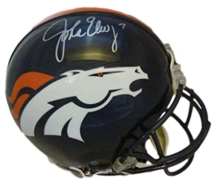 Image Unavailable. Image not available for. Color  John Elway Autographed  Denver Broncos Current Proline Helmet JSA 7c230d968
