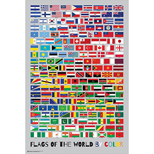 flags of the world poster - 1