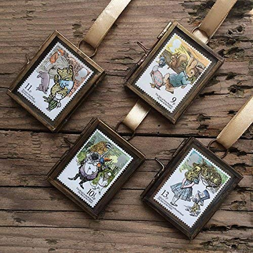 Classic Vintage Postage Stamp in Frame Winnie The Pooh