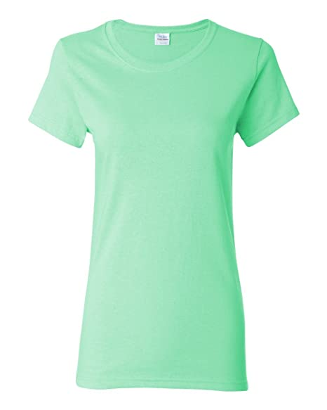 b514eabc Image Unavailable. Image not available for. Color: Gildan Heavy Cotton  Womens 5.3 oz. Missy Fit T-Shirt (G500L)-