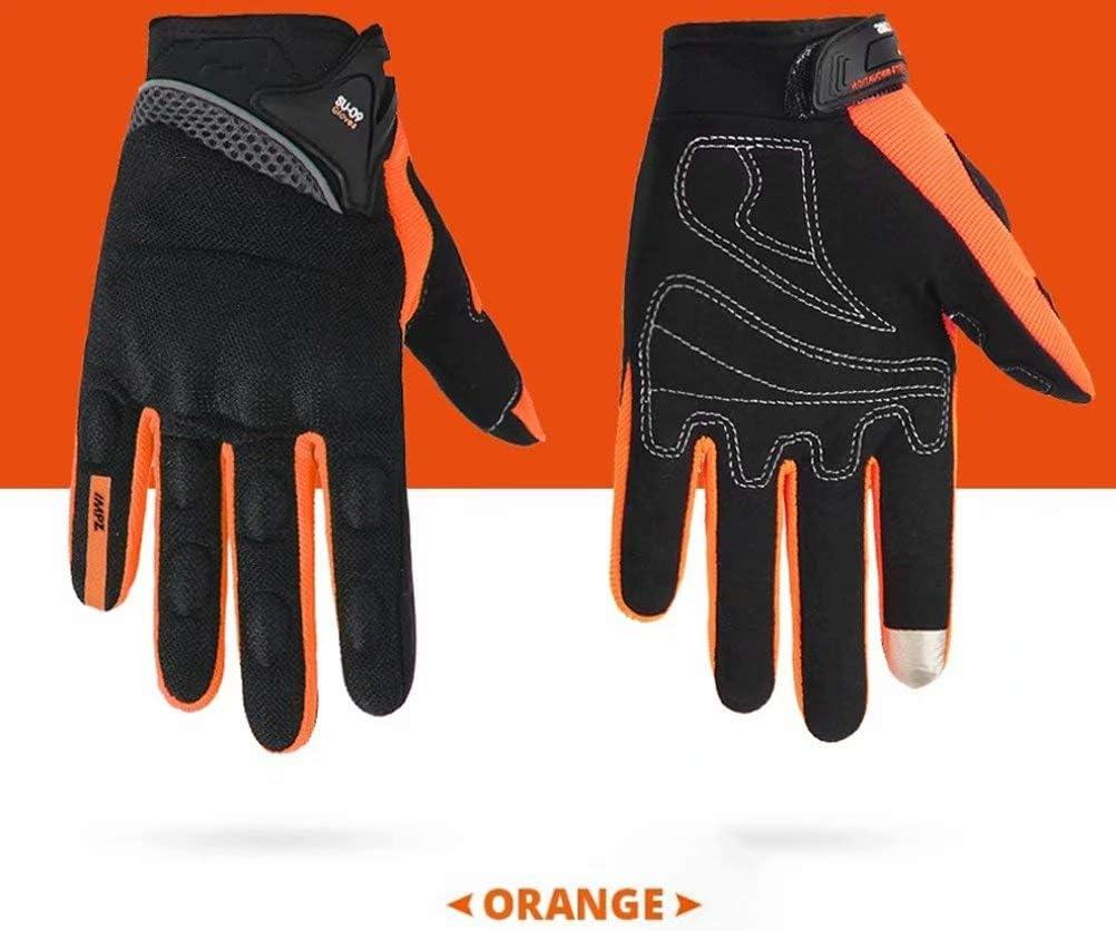 Guanti protettivi da Uomo Guanti Estivi Traspiranti per Touch Screen Mylujo Guanti da Motocicletta Guanti da Moto da Corsa
