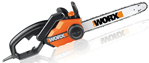 WORX WG303.1 16-Inch Chain Saw, 3.5 HP 14.5 Amp