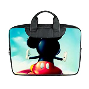 INSTALL AND EASY TO CARRY Wear& Slim &Dapper Cute Wallpapers Custom Waterproof Nylon Bag for Laptop 11 Inches(Twin sides)