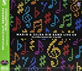 Mario & Zelda Big Band Live by The Big Band of Rogues, Yoshihiro Arita and Band, Ashura Benimaru Ito, Seiko [Music CD]