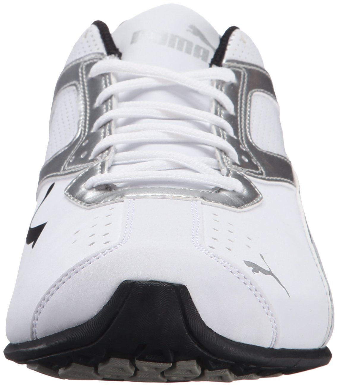 PUMA Men's Tazon 6 FM Puma White/ Puma Silver Running Shoe - 7.5 D(M) US by PUMA (Image #4)