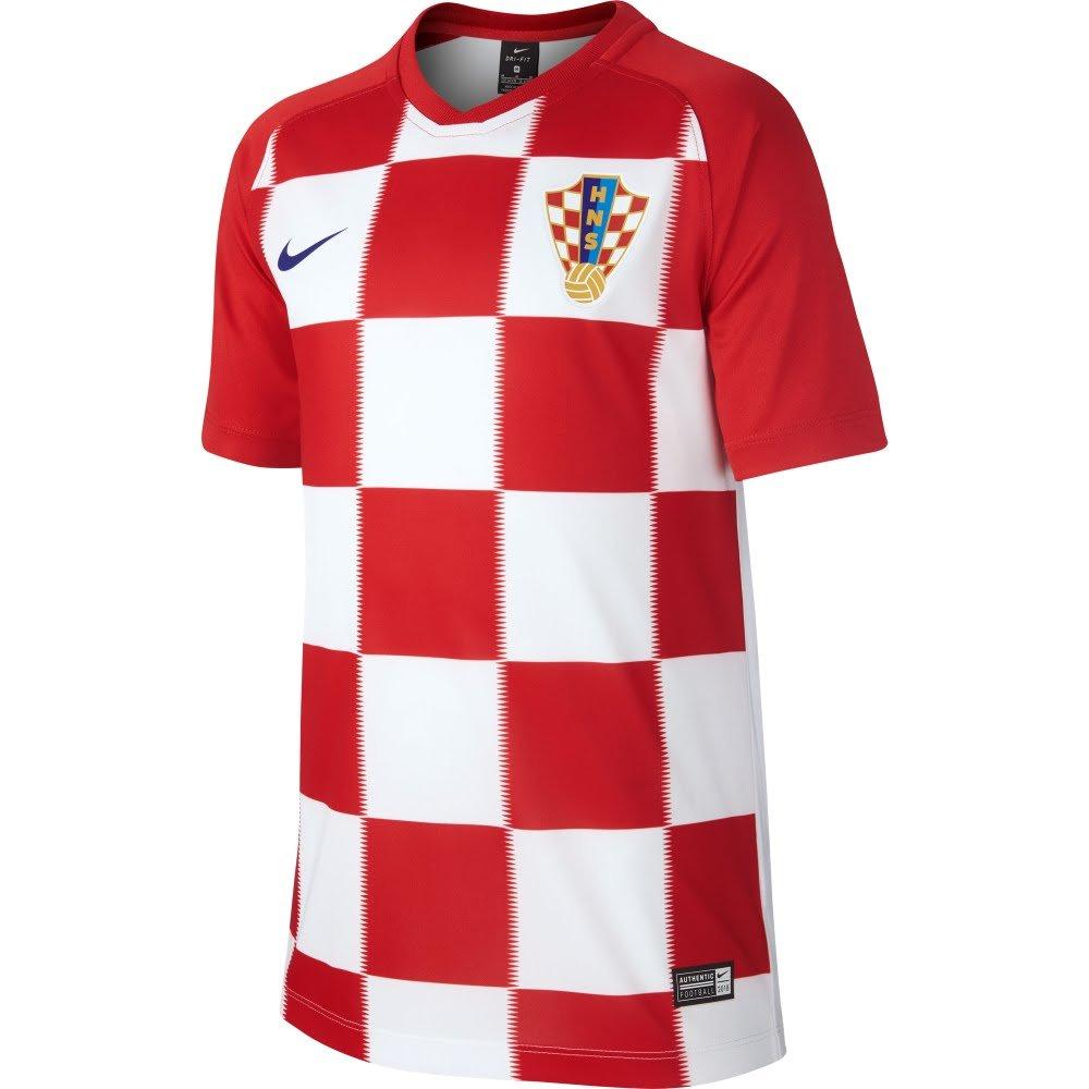 Nike 2018-2019 Croatia Home Supporters Football Soccer T-Shirt Trikot (Kids)