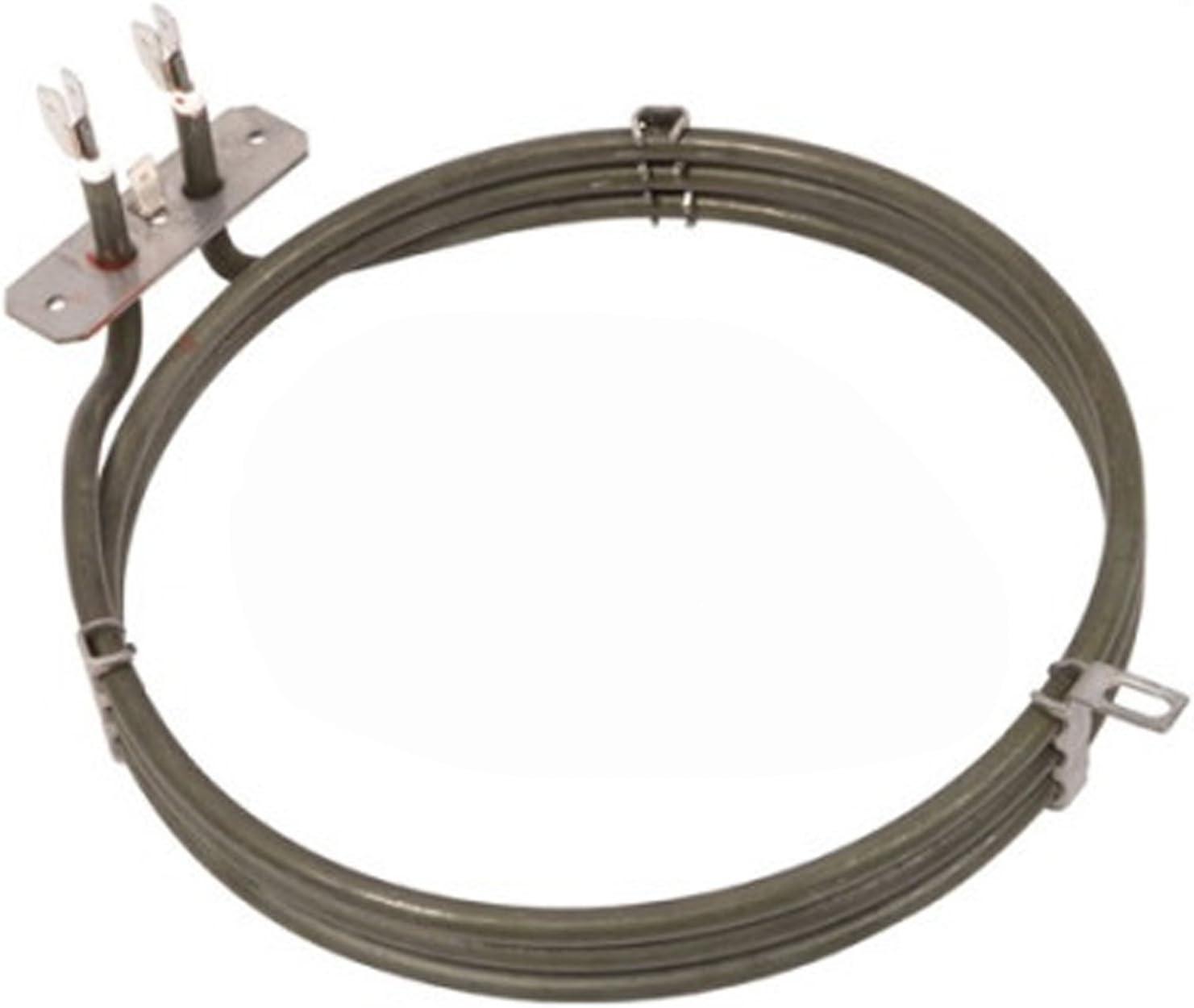 Spares2go 3 Gire Elemento calefactor para horno DeLonghi ...