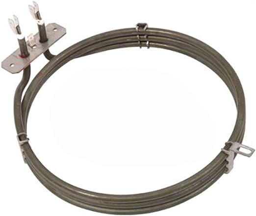 Spares2go 3 Gire Elemento Calentador para Kelvinator Ventilador ...