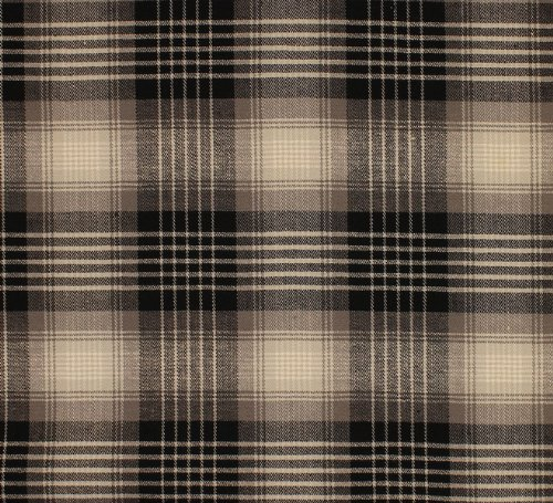 Tartan Cotton Stretch Twill Plaid Suiting Fabric By the Yard (Suiting Twill)