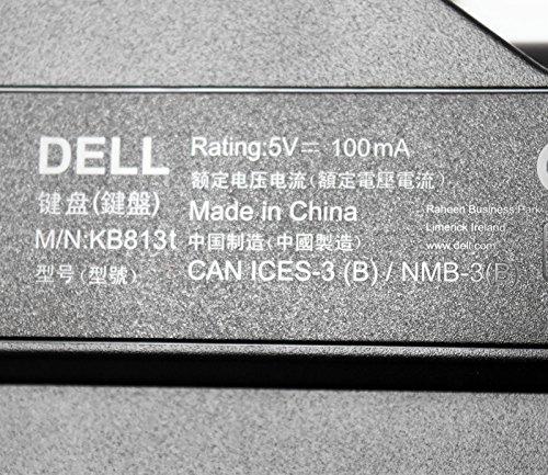 Amazon.com: New 9KYD5 Autentico Fabricante Dell KB813t Black Silver Trim SPANISH LATIN AMERICAN Layout Computadora de Escritorio Teclado Numerico USB con ...