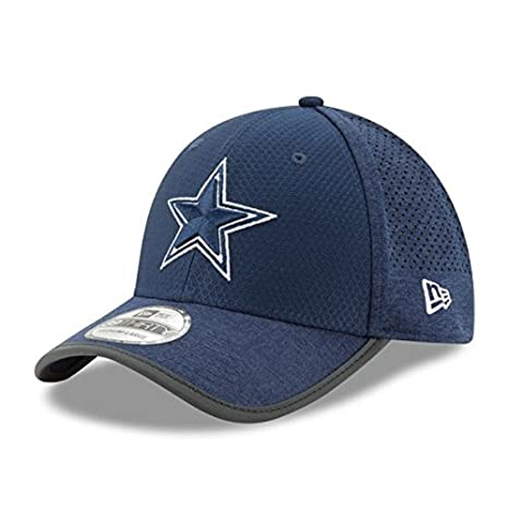 4cbc07924 Dallas Cowboys On-Field Training 39THIRTY Flex Fit Hat   Cap Small   Medium