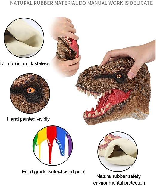 Spielzeug Handpuppen sumicorp.com Dinosaurier-Kopfspielzeug ...