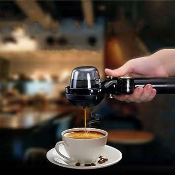 Máquina De Café Portátil Mini Cafetera De Café Espresso Manual De Mano Olla De Fácil Operación: Amazon.es: Hogar