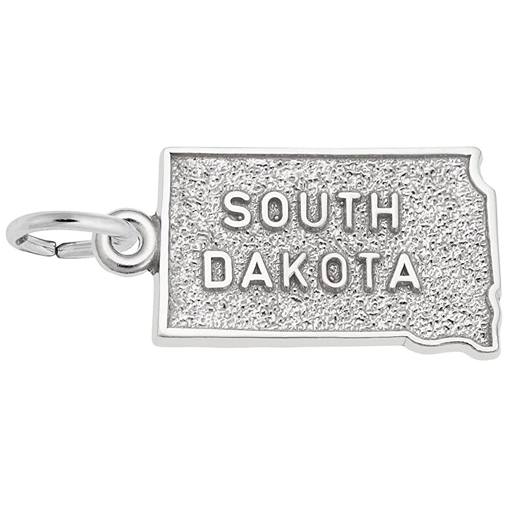 Charms for Bracelets and Necklaces South Dakota Charm