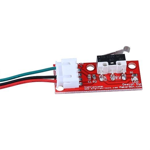 PChero Interruptor de Fin de Carrera Mecánico, con Indicadores LED ...