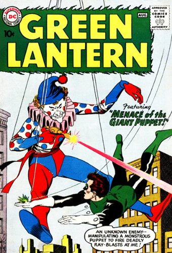 Green Lantern #1 Comic Book Cover Poster 1960