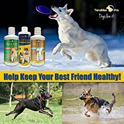 TerraMax Pro Liquid Omega-3 Fish Oil for Dogs and Cats, 32 Fl. Oz.
