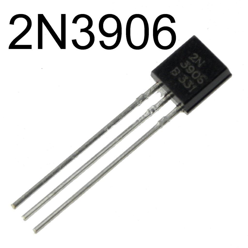 N 10  2N3906 PNP General Purpose Transistor Amplifier