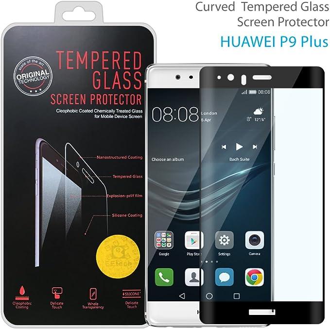 SZEETECH Protector de pantalla 2.5D 9H completa cobertura para Huawei P9 Plus: Amazon.es: Electrónica