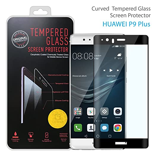 7 opinioni per Huawei P9/P9Plus protezione per schermo 2.5d copertura totale, szeetech Premium