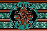 jacson Tribal Aztec Kokopelli Southwest Design Doormat 23.6(L) x 15.7(W) Inch