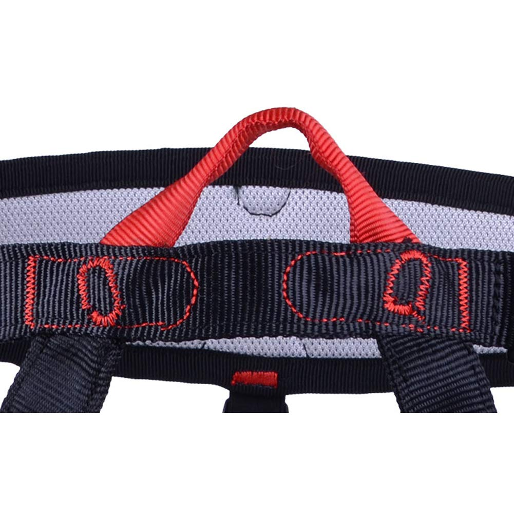 Climbing Harness Outdoor Half-Length Professional Rescue cave Downhill seat Belt high-Altitude seat Belt Equipment by HENRYY (Image #4)