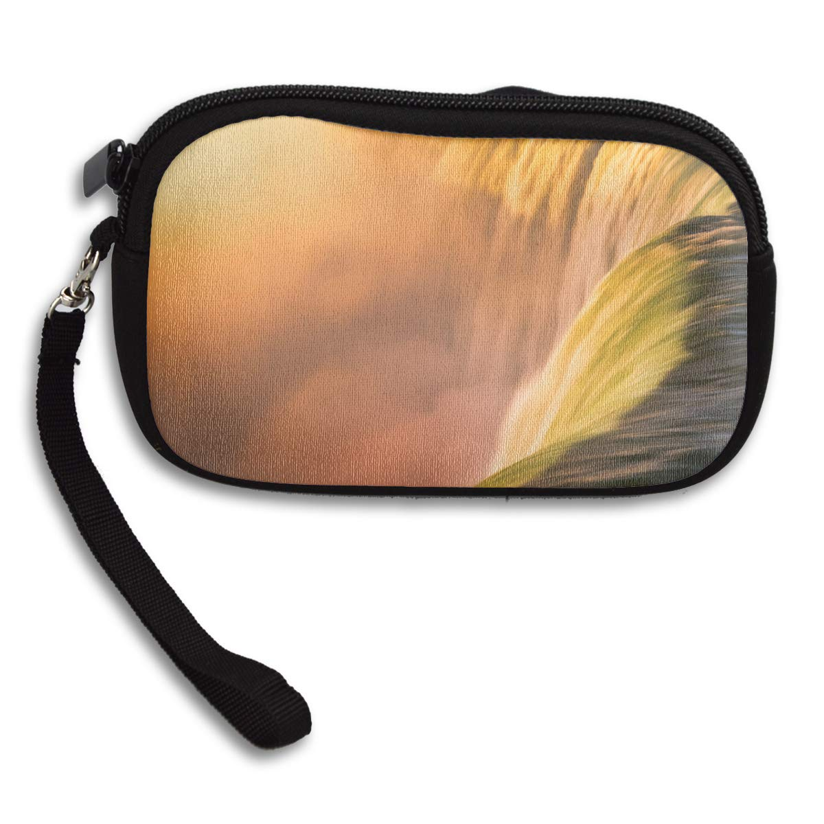 Waterfall Nature Deluxe Printing Small Purse Portable Receiving Bag