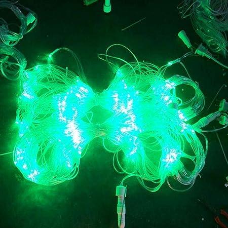 Luces navideñas Luces De Cadena, Jardín Iluminación Luz 10mx8m ...