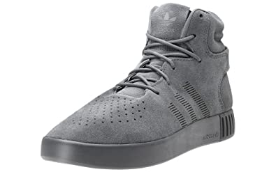 new style e3199 3e467 Adidas Men's Tubular Invader Onix, Onix and Black Leather ...