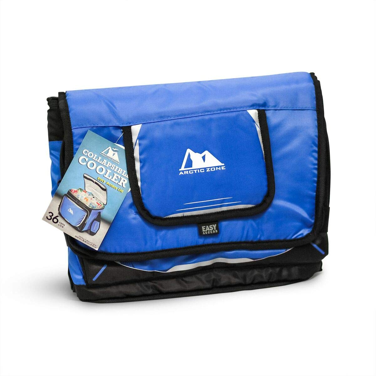 Arctic Zone 36 Can Collapsible Folding Cooler with Easy Access Lid