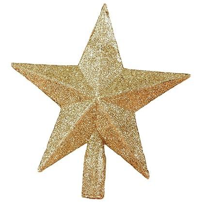 Stella Per Albero Di Natale Fai Da Te.Coaster Puntale Per Albero Di Natale A Forma Di Stella Colore