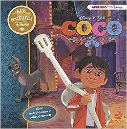 Coco Mis lecturas Disney : Con pictogramas y actividades: Amazon.es: Disney, Adosaguas Sayalero SLU;: Libros