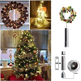 Led Lichterkette Weihnachten Melivent 3m 30glocken Flaschenlicht