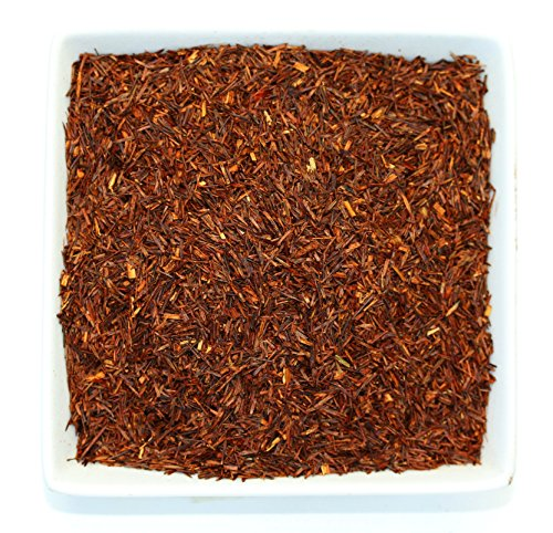 Leaves Pure Teas Herbal Tea - Tealyra - Pure Rooibos Red Herbal Tea - African Red Bush Loose Leaf Tea - High in Antioxidants - Relax - Detox - Low Blood Pressure - Kids Welcome - Caffeine-Free - Organically Grown - 220g (8-ounce)