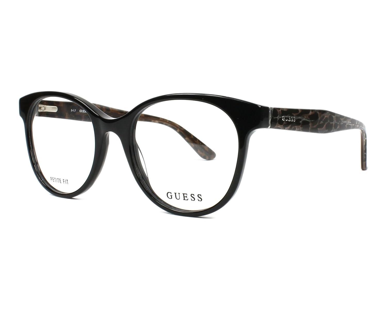 GUESS Unisex's GU2646 001 50 Optical Frames, Nero Lucido