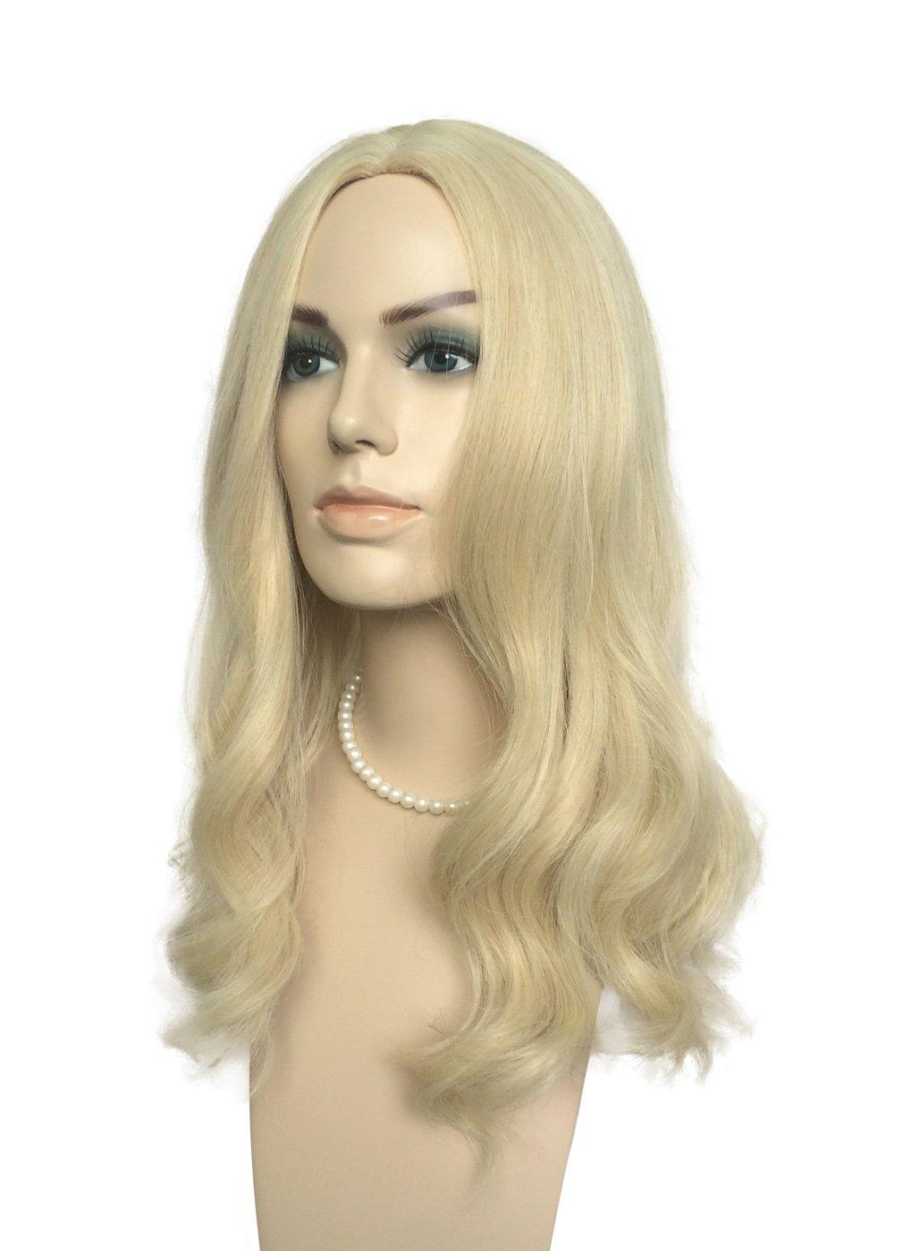namecute Bleach peluca rubia larga sintético parte media peluca Pelucas + libre: Amazon.es: Belleza