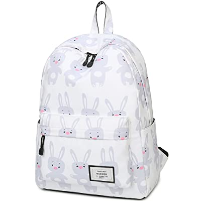324ae4b6481 School Bookbags for Girls, BLOOMSTAR Cute Rabbit Print Laptop Backpack  College Bags Women Daypack Travel