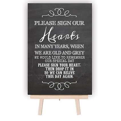 Pizarra para firmas de los invitados de boda, mesa de metal ...