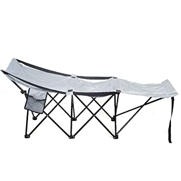 portable folding camping adventure camp bed durable hammock sleeping cot steel amazon    portable folding camping adventure camp bed durable      rh   amazon