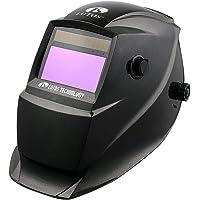 LOTOS HM02 Solar Power Auto Darkening Adjustable Welding Helmet - Perfect for Plasma Cut Gouge, ARC TIG MIG Weld & Grinding