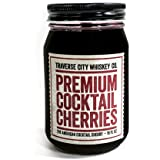 Premium Cocktail Cherries (16oz) by Traverse City Whiskey Co.