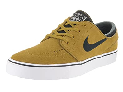 dba5dd30a06a6 Image Unavailable. Image not available for. Color  NIKE Men s Zoom Stefan  Janoski Peat Moss Black White White Skate Shoe ...