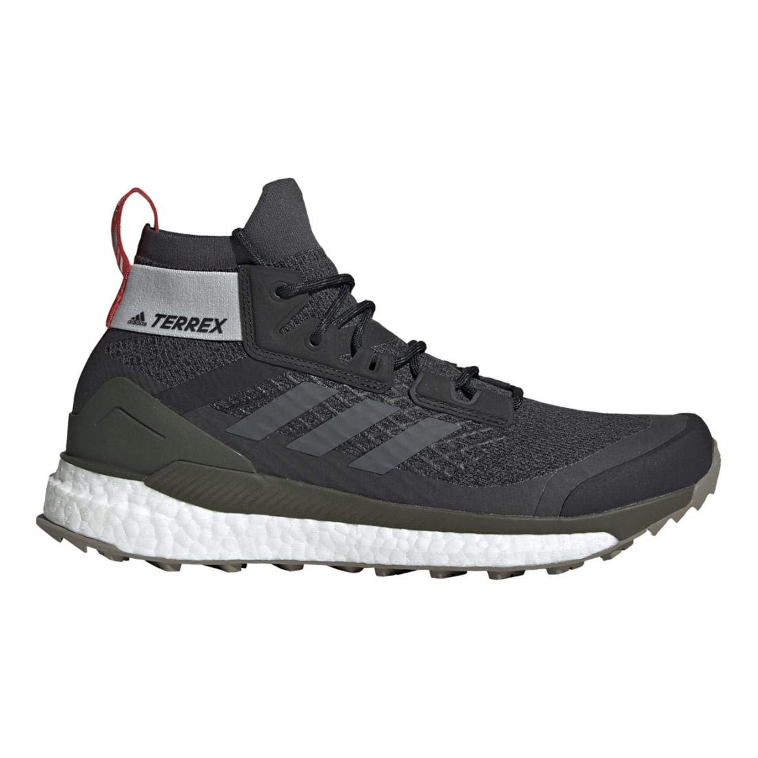 adidas outdoor Men's Terrex Free Hiker Black/Grey Six/Night Cargo 8 D US