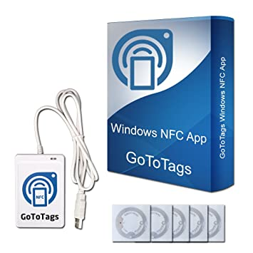 How do you download a tag reader for an Android phone?