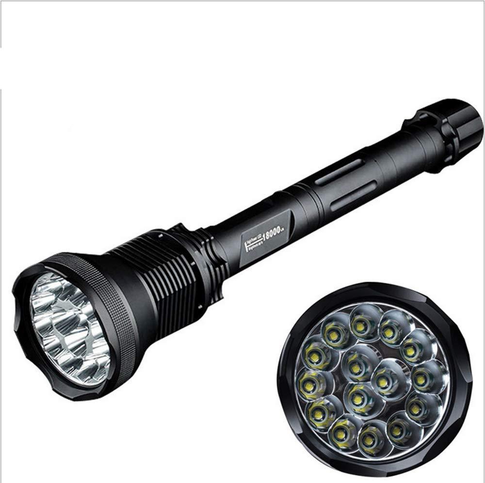 TQ Taschenlampe, High-Power-Taschenlampe, 18000 Lumen Taschenlampe, Li-Ion-Akku-Taschenlampe, Lange Schüsse König