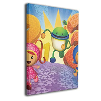 Amazon.com: YZ-MAMU Bot Team Umizoomi Stitched Edges Wall ...