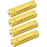 4x 3.7V 9800mAh batteria 18650batteria magiyard Li-Ion ricaricabile per Torcia Torcia